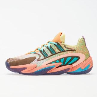 adidas x Pharrell Williams Crazy BYW 2.0 Yellow Tint/ Chalk Coral/ Trace Purple FU7369