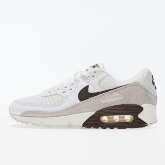 Nike Air Max 90 White/ Baroque Brown-Sail-Vast Grey CW7483-100