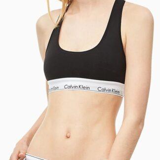 Calvin Klein černá sportovní podprsenka Bralette