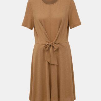 Vero Moda hnědé šaty Cira