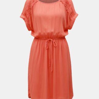 Vero Moda oranžové šaty Monica