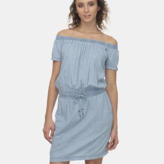 Ragwear světle modré šaty Everly Denim