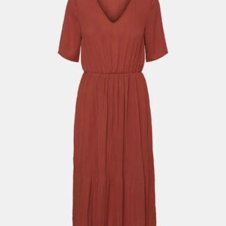 Vero Moda hnědé šaty Malou