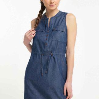 Ragwear modré šaty Roisin Denim