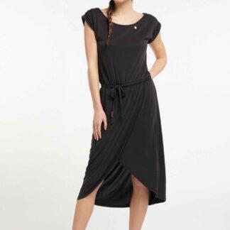 Ragwear černé šaty Ethany