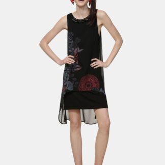 Desigual černé šaty Siena