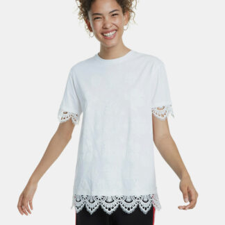Desigual bílé tričko Lorita