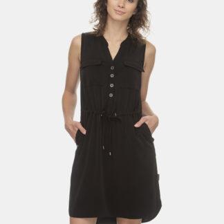 Ragwear černé šaty Roisin