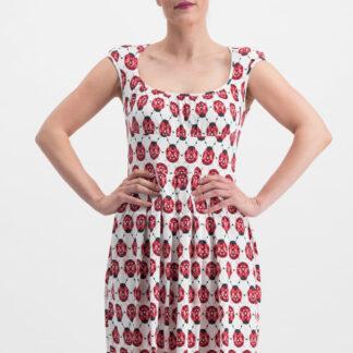 Blutsgeschwister šaty s beruškami Glockengeläut