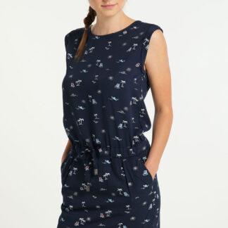Ragwear modré šaty Mascarpone