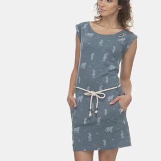 Ragwear modré šaty Tag Tiger