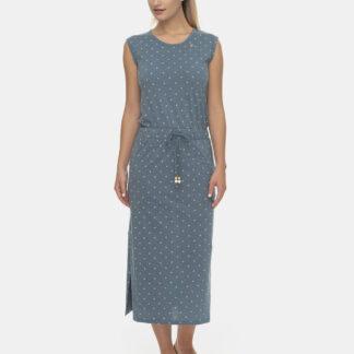 Ragwear modré šaty Yvetee se vzory