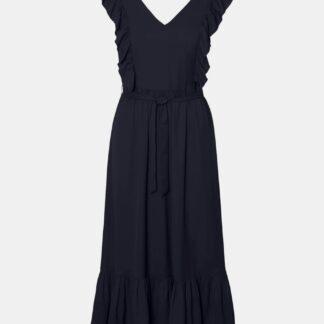 Vero Moda tmavě modré šaty Odette