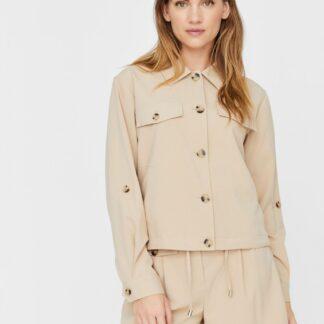 Vero Moda béžová bunda Ofelia
