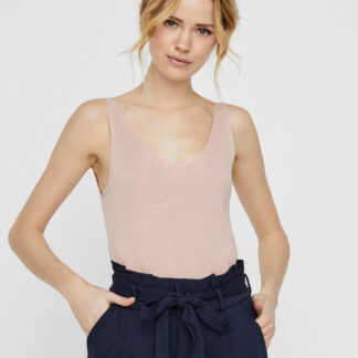 Vero Moda růžové tílko Newlex