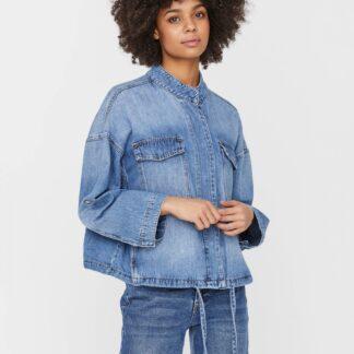 Vero Moda modrá džínová  bunda Nova