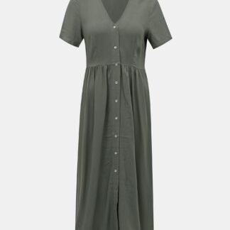 Vero Moda zelené maxi šaty Oma