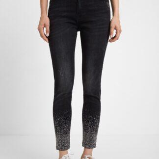 Desigual černé džíny Denim Nola