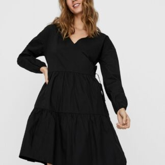 Noisy May černé volné šaty Pinar