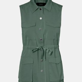 Vero Moda zelená vesta Paula