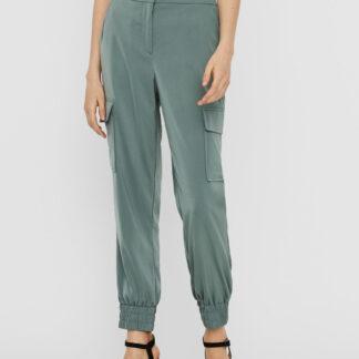Vero Moda zelené kalhoty