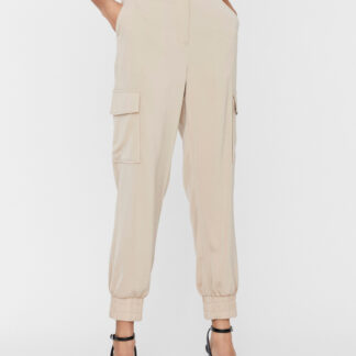 Vero Moda béžové kalhoty Paula
