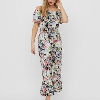 Vero Moda barevné maxi šaty Phoebe