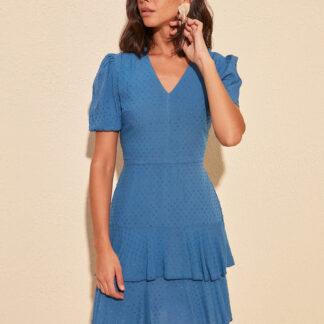 Trendyol modré letní šaty