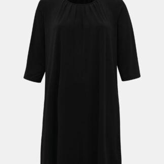 Zizzi černé šaty s tříčtvrtečním rukávem