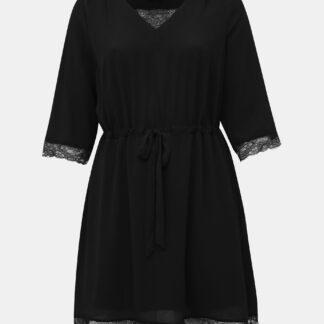 Zizzi černé šaty s krajkou