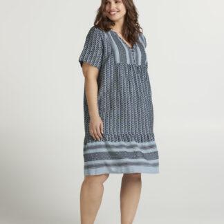 Zizzi modré vzorované šaty