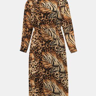 Zizzi šaty se zvířecím vzorem