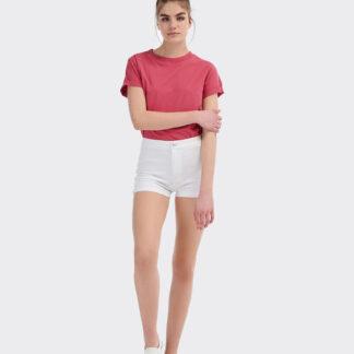 Alcott bílé dámské džínové kraťasy