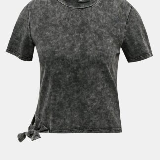 Tally Weijl šedé krátké tričko