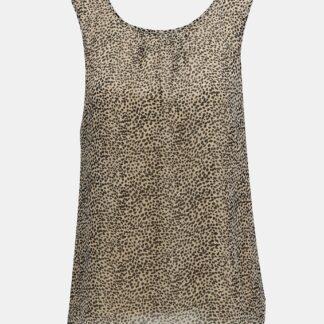 Vero Moda béžová vzorovaná halenka