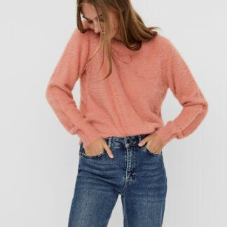 Noisy May růžový svetr Jess