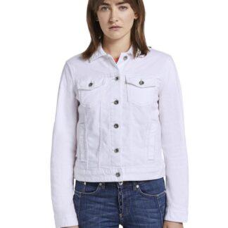 Tom Tailor bílá džínová bunda