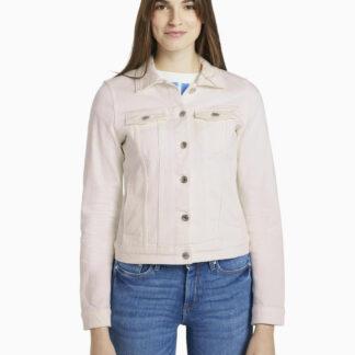Tom Tailor Denim bílá džínová bunda