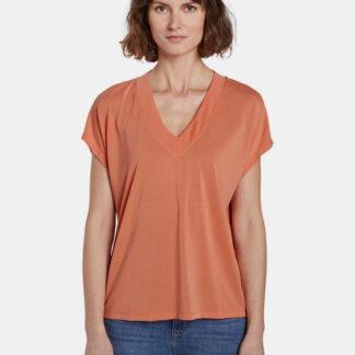 Tom Tailor oranžové dámské tričko