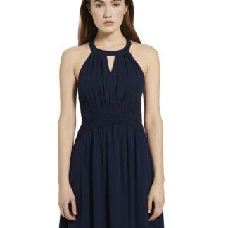 Tom Tailor Denim tmavě modré šaty