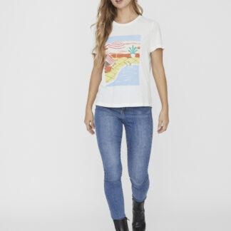 Vero Moda bílé tričko Trisholly