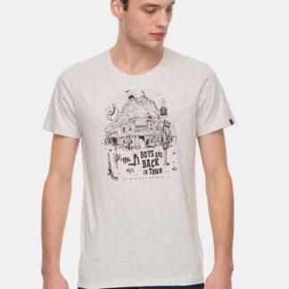 Ragwear krémové tričko Keeton