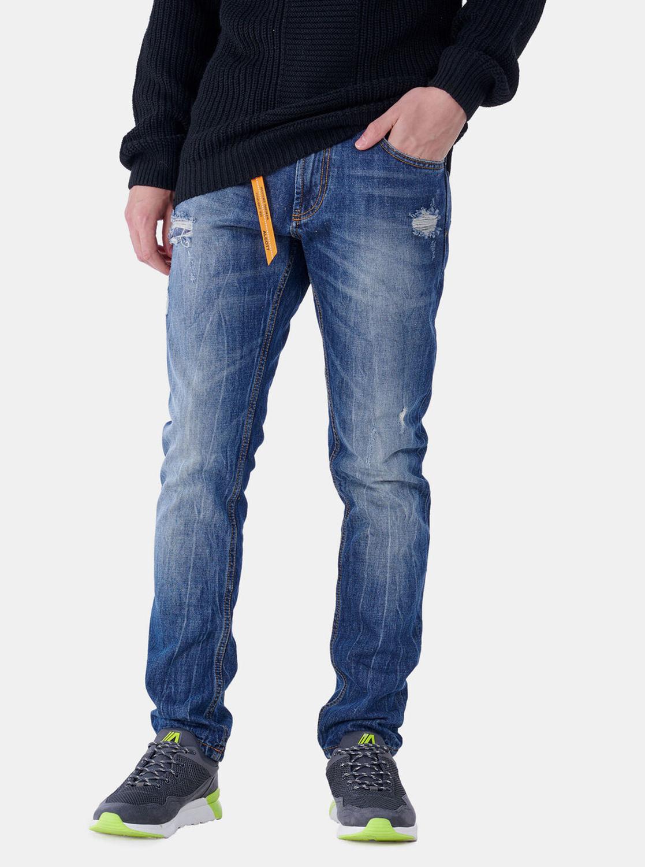 Alcott modré pánské slim fit džíny