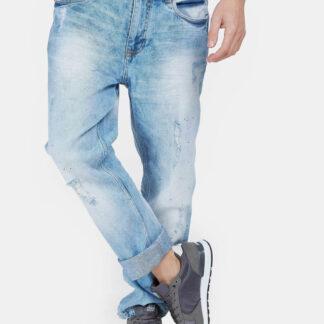 Alcott světle modré pánské kalhoty