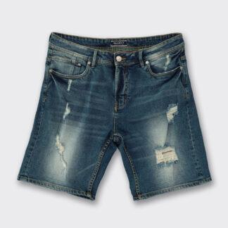 Alcott modré džínové pánské kraťasy