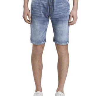 Tom Tailor Denim modré džínové kraťasy