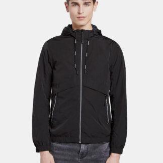 Tom Tailor Denim černá pánská bunda