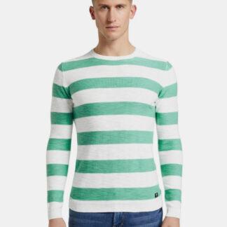 Tom Tailor Denim pruhovaný pánský svetr