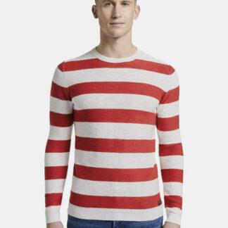 Tom Tailor Denim pánský pruhovaný svetr