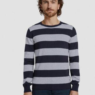 Tom Tailor pánský pruhovaný svetr
